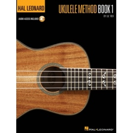 Hal Leonard Ukulele Method Book 1 & Audio