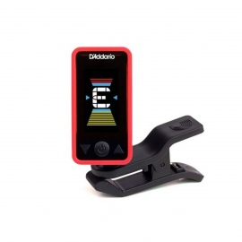 Planet Waves PW-CT-17RD Eclipse Headstock Tuner in Red