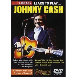Lick Library: Learn To Play Johnny Cash 2 DVD Set