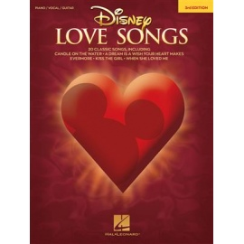 Disney Love Songs - 3rd Edition- PVG