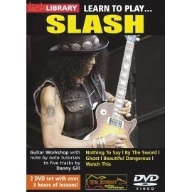 Lick Library: Learn To Play Slash 2 DVD Set