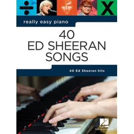 Really Easy Piano: 40 Ed Sheeran Songs