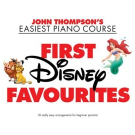 John Thompson's Easiest Piano Course: First Disney Favourites