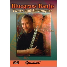 Bluegrass Banjo Tunes and Techniques - Tony Trischka