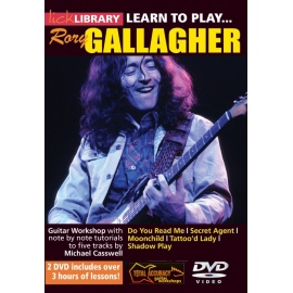 Lick Library: Learn To Play Rory Gallagher