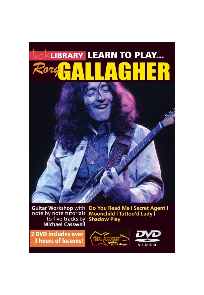 Lick library rory gallagher