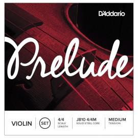 Prelude J810 Medium Tension 4/4 Scale Violin String Set