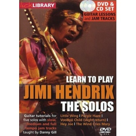 Lick Library: Learn To Play Jimi Hendrix The Solos DVD & CD Set