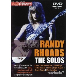 Lick Library: Learn To Play Randy Rhoads The Solos