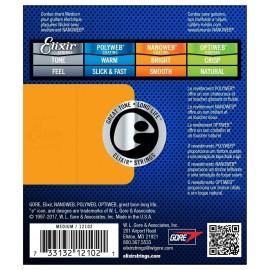 ELIXIR 12102 Nanoweb Medium Strings 11-49