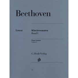 Beethoven - Sonatas Volume I: Henle Verlag