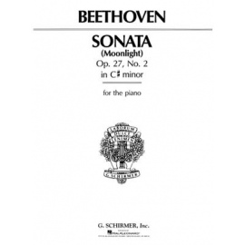 Beethoven - Sonata in C-Sharp Minor, Opus 27, No. 2