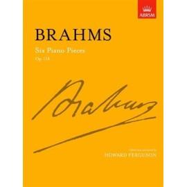 Brahms : Six Piano Pieces Op.118