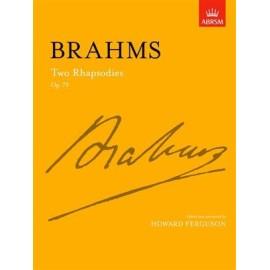 Brahms : Two Rhapsodies Op. 79