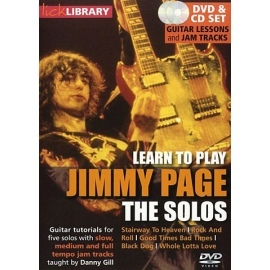 Lick Library: Learn To Play Jimmy Page The Solos