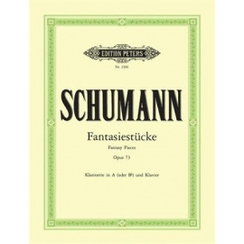 Schumann : Fantasy Pieces Op.73 for Clarinet and Piano