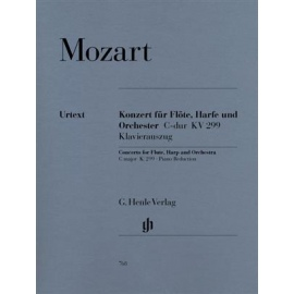 Mozart : Concerto For Flute, Harp And Orchestra C Major K. 299