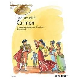 Georges Bizet Carmen ( Get To Know Classical Masterpieces ) - Easy Piano