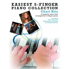 Easiest 5 Finger Piano Collection: Chart Hits