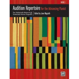 Audition Repertoire for the Advancing Pianist BK 1