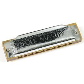 Suzuki Folkmaster Harmonica Key D