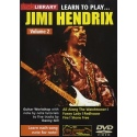 Lick Library: Learn To Play Jimi Hendrix Vol 2