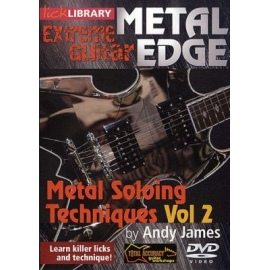 Lick Library: Extreme Guitar Metal Edge - Metal Soloing Vol 2