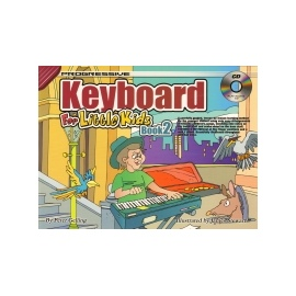 Progressive Keyboard For Little Kids Book 2 + Cd