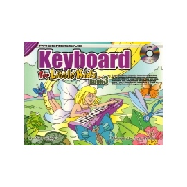 Progressive Keyboard For Little Kids Book 3 + Cd