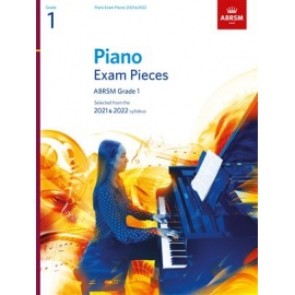 ABRSM Piano Exam Pieces 2021 & 2022 - Grade 1 (Book Only)