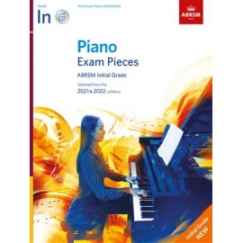 ABRSM Piano Exam Pieces 2021 & 2022 - Initial (Book & CD)