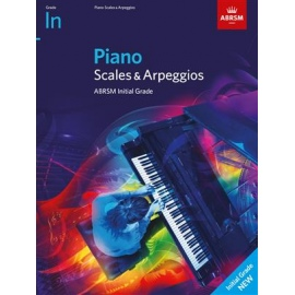 ABRSM Piano Scales & Arpeggios 2021 - Initial