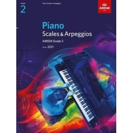 ABRSM Piano Scales & Arpeggios 2021 - Grade 2