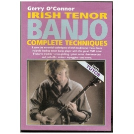 Gerry O' Connor Irish Tenor Banjo Complete Techniques