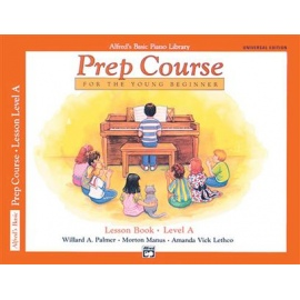 Alfred's Basic Piano Library Prep Course Lesson A