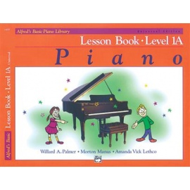 Alfred's Basic Piano Library Lesson 1A