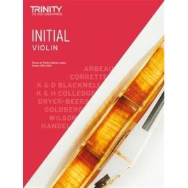 Trinity Violin 2020-2023 Initial