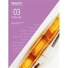 Trinity Violin 2020-2023 Grade 3