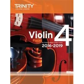Trinity Violin Pieces 2016-2019 Grade 4