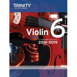 Trinity Violin Pieces 2016-2019 Grade 6