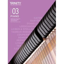 Trinity Piano Exam 2021-2023 Grade 3