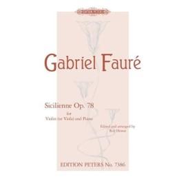 Fauré : Sicilienne Op.78
