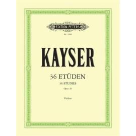 Kayser - 36 Studies Violin
