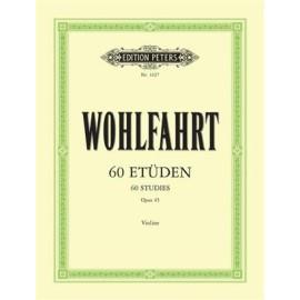 Wohlfahrt : 60 Studies Opus 45 Violin