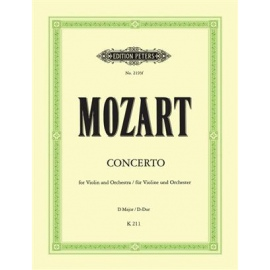 Mozart : Concerto In D For Violin And Piano K211