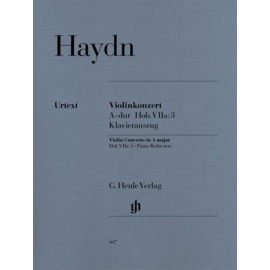 Haydn : Concerto for Violin and Orchestra In A Hob. VIIa