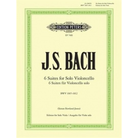 J.S. Bach : Six Cello Suites BWV 1007-1012