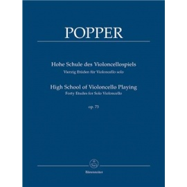 Popper : High School of Violoncello Playing Op. 73
