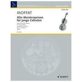Mofatt : Melodies by Old Masters for Young Cellists Violincello and Piano
