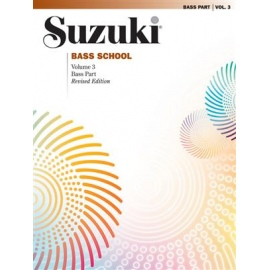 Suzuki Bass School Bass Part, Volume 3 (Revised)